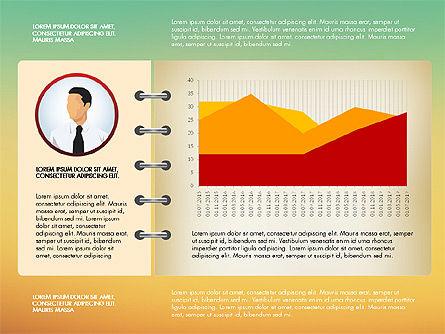 Report Concept Data Driven Charts, Slide 13, 02954, Data Driven Diagrams and Charts — PoweredTemplate.com