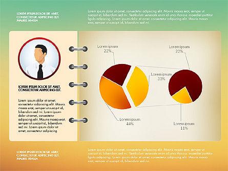 Report Concept Data Driven Charts, Slide 14, 02954, Data Driven Diagrams and Charts — PoweredTemplate.com
