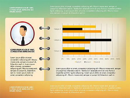 Report Concept Data Driven Charts, Slide 15, 02954, Data Driven Diagrams and Charts — PoweredTemplate.com