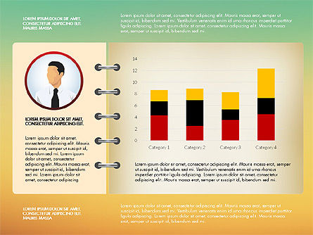 Report Concept Data Driven Charts, Slide 16, 02954, Data Driven Diagrams and Charts — PoweredTemplate.com