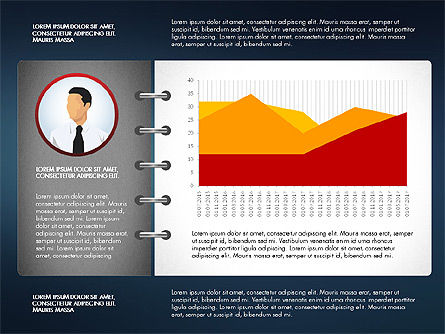 Report Concept Data Driven Charts, Slide 5, 02954, Data Driven Diagrams and Charts — PoweredTemplate.com
