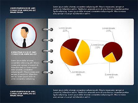 Report Concept Data Driven Charts, Slide 6, 02954, Data Driven Diagrams and Charts — PoweredTemplate.com