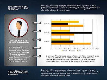 Report Concept Data Driven Charts, Slide 7, 02954, Data Driven Diagrams and Charts — PoweredTemplate.com
