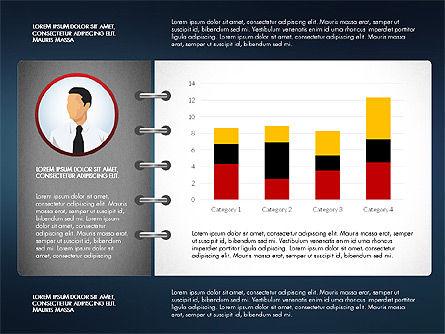 Report Concept Data Driven Charts, Slide 8, 02954, Data Driven Diagrams and Charts — PoweredTemplate.com