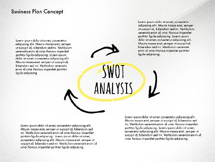 Business Plan Process Concept, Slide 2, 02955, Process Diagrams — PoweredTemplate.com