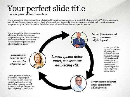 Company Organization Diagram, Slide 6, 02958, Organizational Charts — PoweredTemplate.com