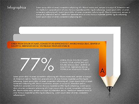 Infographics with Pencil, Slide 11, 02959, Infographics — PoweredTemplate.com