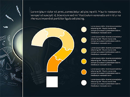Creative and Funky Business Presentation Template, Slide 7, 02961, Presentation Templates — PoweredTemplate.com