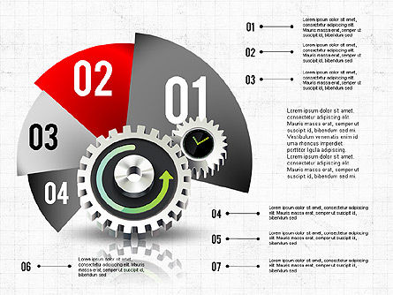 Business Process Stages Concept, 02962, Process Diagrams — PoweredTemplate.com