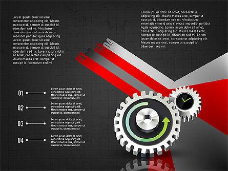 Business Process Stages Concept, Slide 10, 02962, Process Diagrams — PoweredTemplate.com