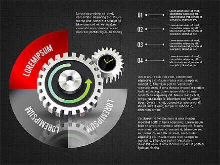Business Process Stages Concept, Slide 12, 02962, Process Diagrams — PoweredTemplate.com