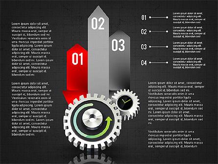 Business Process Stages Concept, Slide 14, 02962, Process Diagrams — PoweredTemplate.com