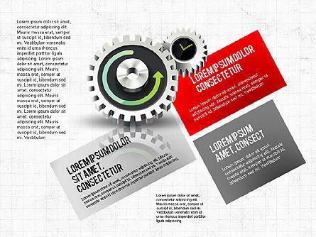 Business Process Stages Concept, Slide 5, 02962, Process Diagrams — PoweredTemplate.com