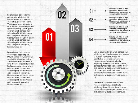 Business Process Stages Concept, Slide 6, 02962, Process Diagrams — PoweredTemplate.com
