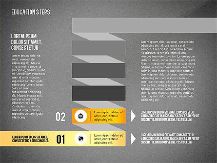 Education Steps, Slide 11, 02966, Education Charts and Diagrams — PoweredTemplate.com
