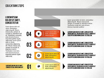Education Steps, Slide 5, 02966, Education Charts and Diagrams — PoweredTemplate.com