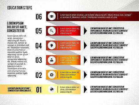 Education Steps, Slide 7, 02966, Education Charts and Diagrams — PoweredTemplate.com