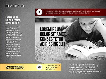 Education Steps, Slide 9, 02966, Education Charts and Diagrams — PoweredTemplate.com