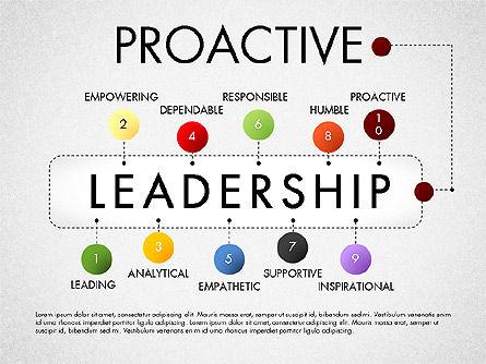 Leadership Concept Presentation Template, Slide 10, 02969, Presentation Templates — PoweredTemplate.com