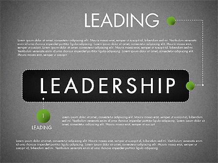 Leadership Concept Presentation Template, Slide 11, 02969, Presentation Templates — PoweredTemplate.com