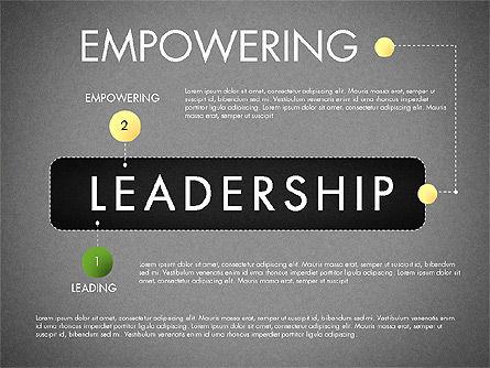 Leadership Concept Presentation Template, Slide 12, 02969, Presentation Templates — PoweredTemplate.com