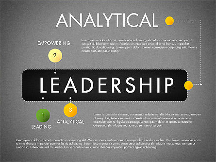 Leadership Concept Presentation Template, Slide 13, 02969, Presentation Templates — PoweredTemplate.com