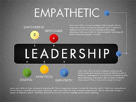 Leadership Concept Presentation Template, Slide 15, 02969, Presentation Templates — PoweredTemplate.com