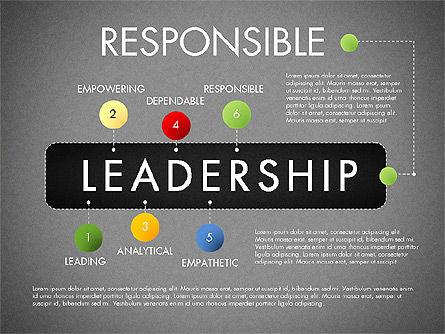 Leadership Concept Presentation Template, Slide 16, 02969, Presentation Templates — PoweredTemplate.com