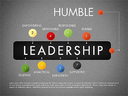 Leadership Concept Presentation Template, Slide 18, 02969, Presentation Templates — PoweredTemplate.com