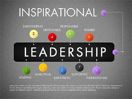 Leadership Concept Presentation Template, Slide 19, 02969, Presentation Templates — PoweredTemplate.com