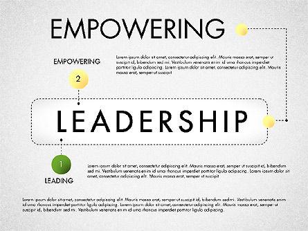 Leadership Concept Presentation Template, Slide 2, 02969, Presentation Templates — PoweredTemplate.com