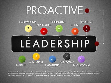 Leadership Concept Presentation Template, Slide 20, 02969, Presentation Templates — PoweredTemplate.com