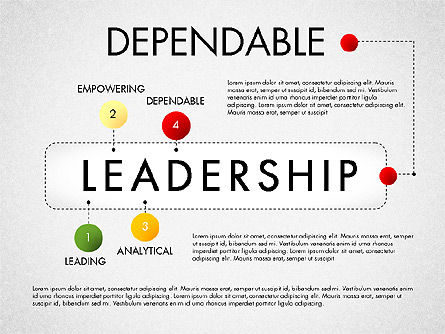 Leadership Concept Presentation Template, Slide 4, 02969, Presentation Templates — PoweredTemplate.com