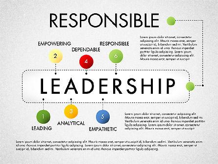 Leadership Concept Presentation Template, Slide 6, 02969, Presentation Templates — PoweredTemplate.com