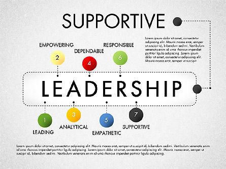 Leadership Concept Presentation Template, Slide 7, 02969, Presentation Templates — PoweredTemplate.com