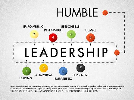 Leadership Concept Presentation Template, Slide 8, 02969, Presentation Templates — PoweredTemplate.com
