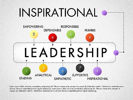 Leadership Concept Presentation Template, Slide 9, 02969, Presentation Templates — PoweredTemplate.com