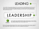 Presentation Templates: Leadership Concept Presentation Template #02969