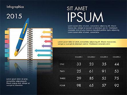 Analytical Infographics, Slide 12, 02970, Infographics — PoweredTemplate.com