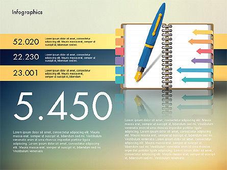 Analytical Infographics, Slide 2, 02970, Infographics — PoweredTemplate.com