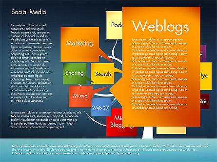 Social Media Tree, Slide 11, 02971, Presentation Templates — PoweredTemplate.com