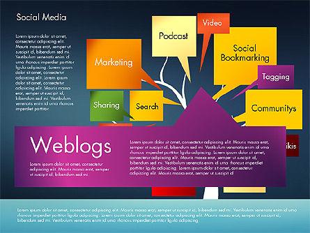 Social Media Tree, Slide 14, 02971, Presentation Templates — PoweredTemplate.com