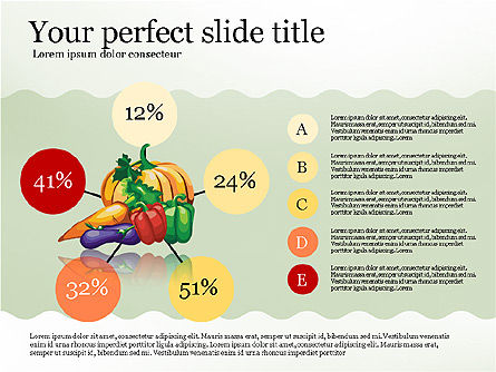 Infographics: Nutrients in Food Infographics #02973
