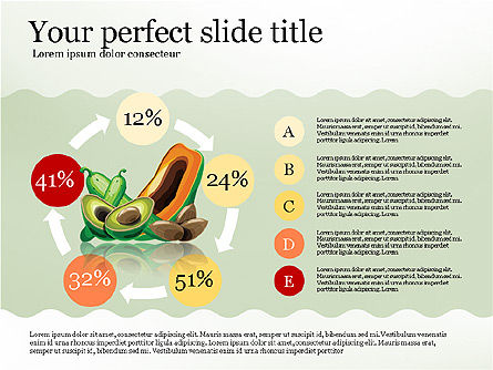 Nutrients in Food Infographics, Slide 4, 02973, Infographics — PoweredTemplate.com