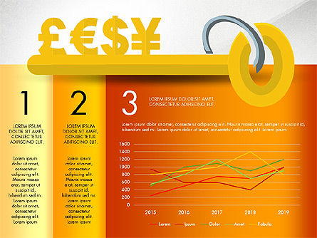 Key to Finances, Slide 5, 02974, Stage Diagrams — PoweredTemplate.com