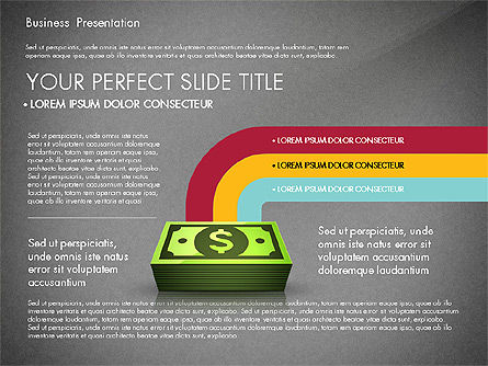 Financial Pitch Deck Presentation Template, Slide 11, 02976, Presentation Templates — PoweredTemplate.com