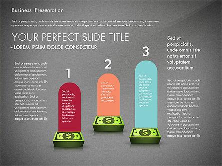 Financial Pitch Deck Presentation Template, Slide 14, 02976, Presentation Templates — PoweredTemplate.com