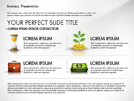 Financial Pitch Deck Presentation Template, Slide 2, 02976, Presentation Templates — PoweredTemplate.com