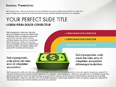 Financial Pitch Deck Presentation Template, Slide 3, 02976, Presentation Templates — PoweredTemplate.com
