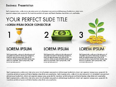 Financial Pitch Deck Presentation Template, Slide 5, 02976, Presentation Templates — PoweredTemplate.com
